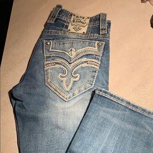 Men's rock revival jeans! Perfect condition!